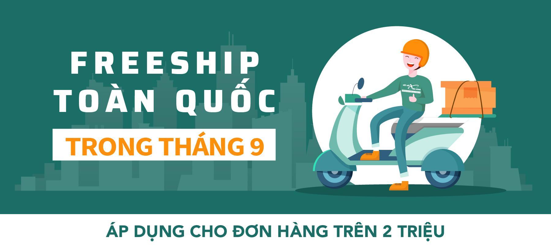 Freeship Việt Nam Tháng 9 Final