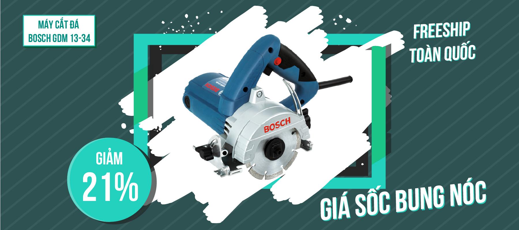 Khuyến Mãi Máy Cắt Đá Bosch GDM 13-34