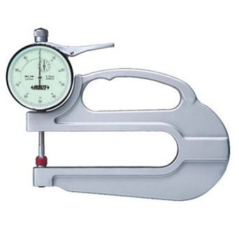 0-10mm Đồng hồ đo độ dày Insize 2365-10