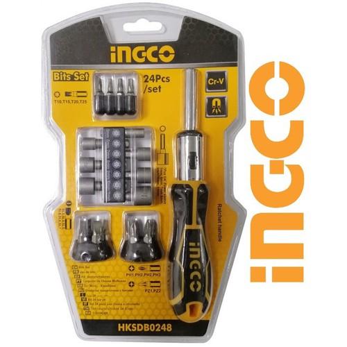 Bộ 24 tua vít Ingco HKSDB0248