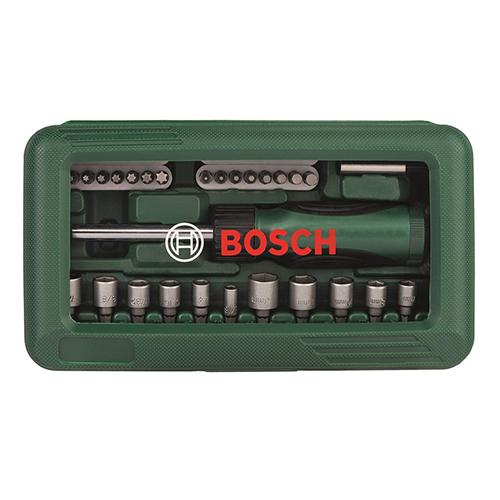 Bộ vặn vít đa năng 46 chi tiết Bosch 2607019504