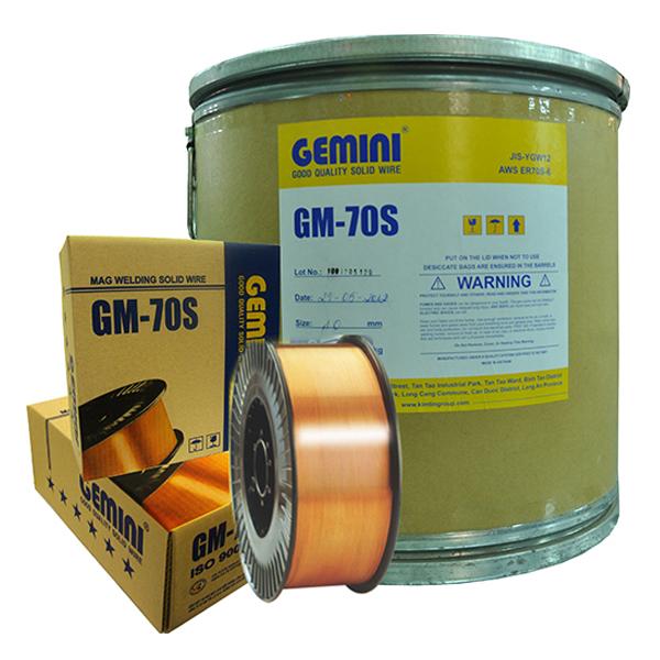 Cuộn dây hàn mig 0.8mm Kim Tín GM-70S 15kg (sắt)
