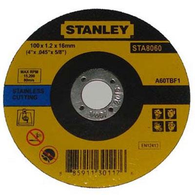 Đá cắt inox Stanley STA8060 (100x1.0x16mm)
