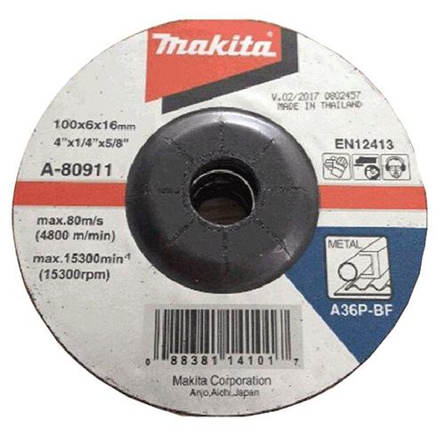 Đá mài sắt Makita A-80911 100 x 6 x 16mm