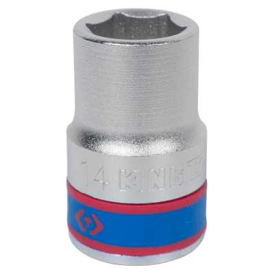 Đầu tuýp lục giác 1/2' 14mm Kingtony 433514M