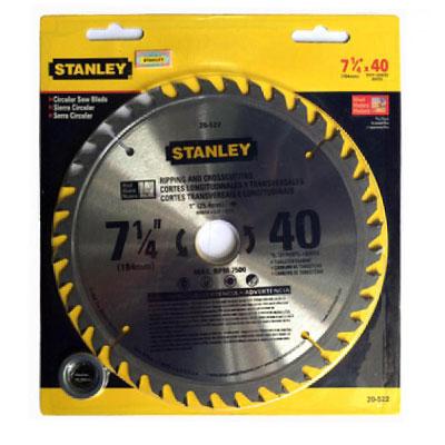 Đĩa cưa gỗ hợp kim 60 răng Stanley 20-523 184 x 25.4 x 60T
