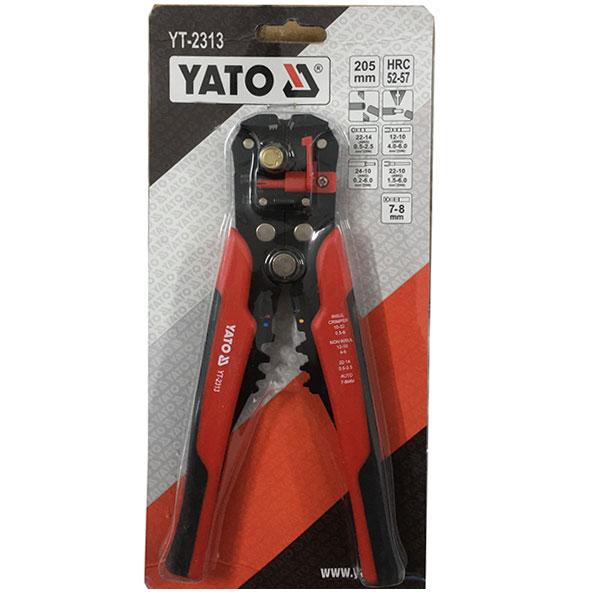 Kìm tuốt dây điện đa năng Yato YT-2313