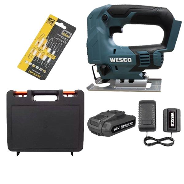 Máy cưa lọng dùng pin 18V Wesco WS2933