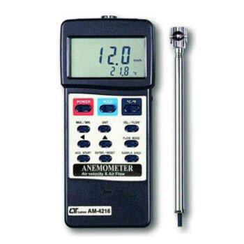 Máy đo tốc độ/lưu lượng gió Lutron AM-4216