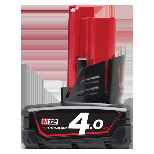 Pin Milwaukee 12V/4.0Ah REDLITHIUM-ION M12B4