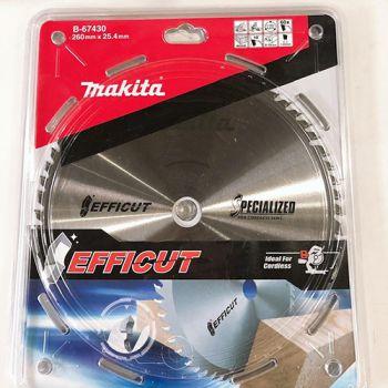Đĩa cắt gỗ hợp kim Makita B-67430 (260x25, 4x60T)