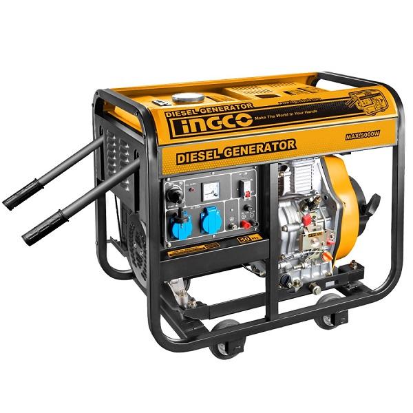 5KW Máy phát điện dùng dầu diesel Ingco GDE50001