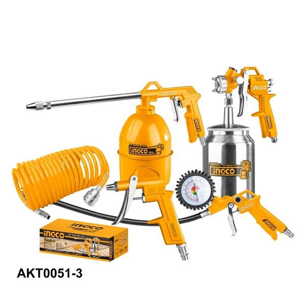 Bộ 5 công cụ dùng khí Ingco AKT0051-3