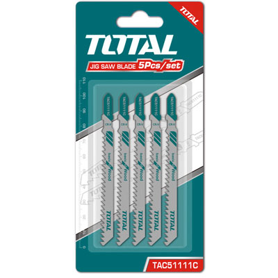 Bộ lưỡi cưa lọng gỗ 5 chi tiết Total TAC51111C