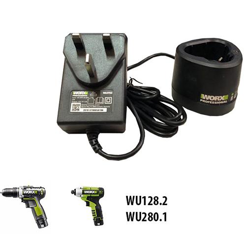 Bộ sạc 1.5A cho pin 12V Worx Green WA3753 (50033557)