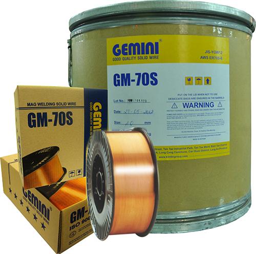 Cuộn dây hàn mig 0.8mm Kim Tín GM-70S (sắt)