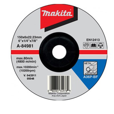 Đá mài sắt Makita A-84981 150 x 6 x 22mm
