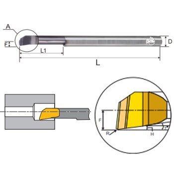 Dao phay hợp kim CMTéc CLB05081515A