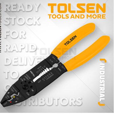 Kìm tuốt dây đa năng Tolsen 38052 215mm