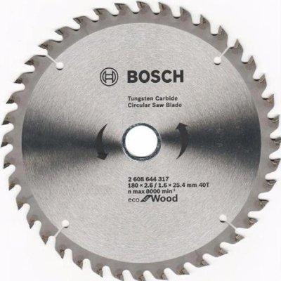 Lưỡi cưa gỗ 40 răng Bosch 2608644317 (180x25 4mm )