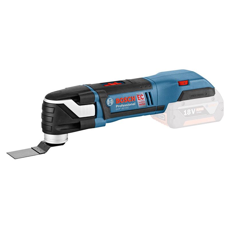Máy cắt đa năng dùng pin Bosch GOP 18V-EC (Solo)
