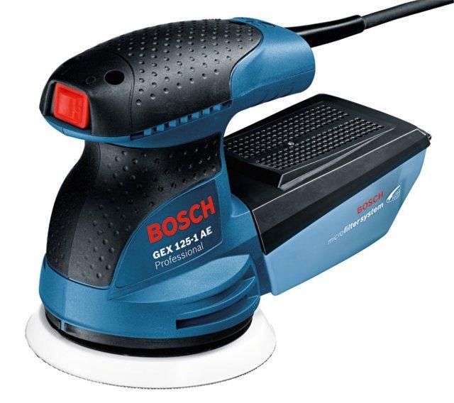 Máy Chà Nhám Rung Tròn Bosch GEX 125-1 AE