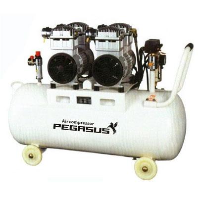Máy nén khí không dầu giảm âm Pegasus TM-OF750x2-70L