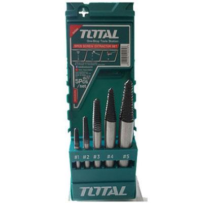 3-18mm Bộ mũi taro lấy ốc gãy 5 chi tiết Total TACSE0056