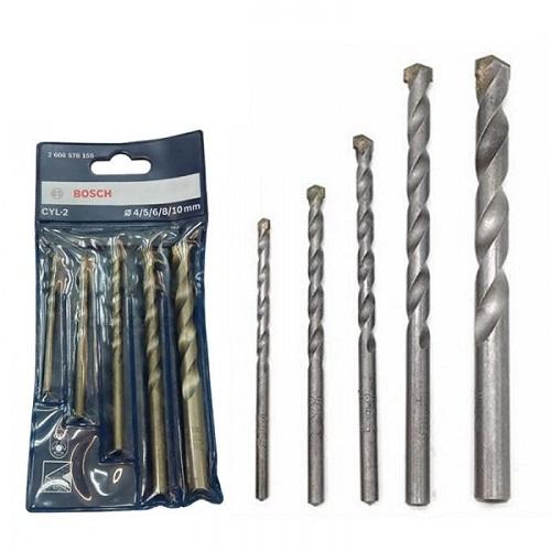 Bộ Mũi khoan tường Bosch Concrete 4/5/6/8/10 2608578155