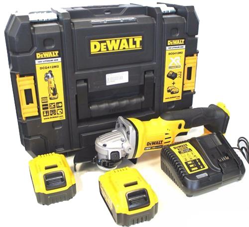 Máy mài góc dùng pin Dewalt DCG412D2B-B1