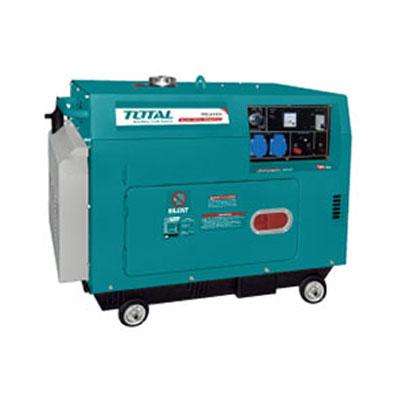 Máy phát điện động cơ dầu Total TP250003 5.0KVA