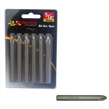 Mũi vít đóng chuyên dụng, SL3x80mm Korper KP-961-IMPACT10