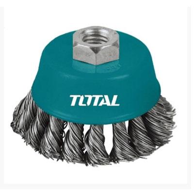 Chén cước (chổi cước) xoắn Total TAC32051 125mm