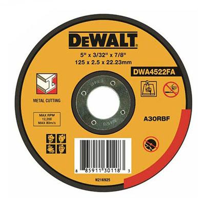 Đá cắt sắt Dewalt DWA4523FA-B1 150X2.5mm