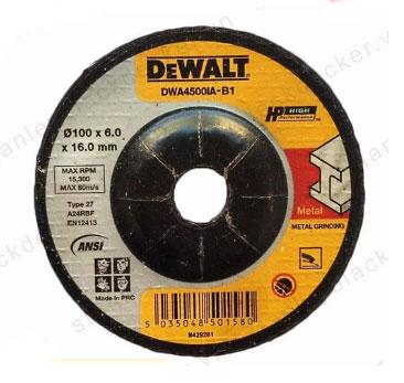 Đá mài kim loại Dewalt DWA4500IA-B1 100x6x16mm