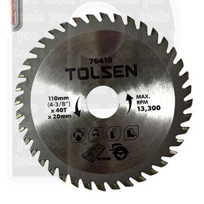Đĩa cắt gỗ Tolsen 76410