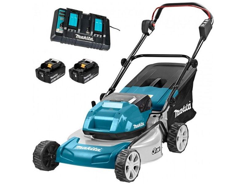 Máy cắt cỏ đẩy tay dùng pin Makita DLM460PT2