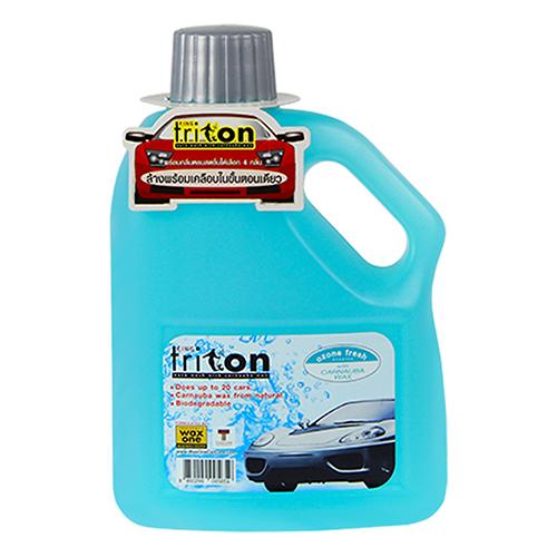 Nước rửa xe sáng bóng và bảo vệ sơn WAX ONE TRITON SHAMPOO ( 1L )