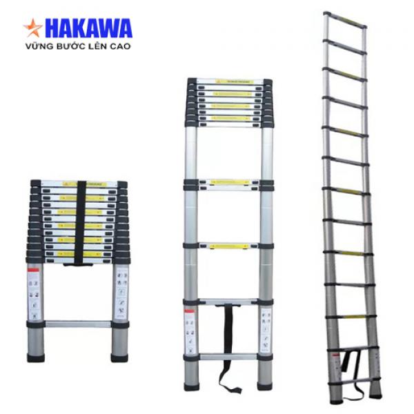 Thang nhôm rút đơn Hakawa HK-138