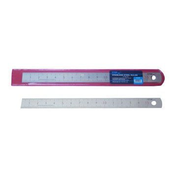 Thước lá inox nhũ bạc - 1000x28x1.1mm TTP USA 230-45840