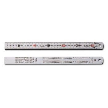 1m Thước lá inox mạ nhũ bạc Niigata SV-1000