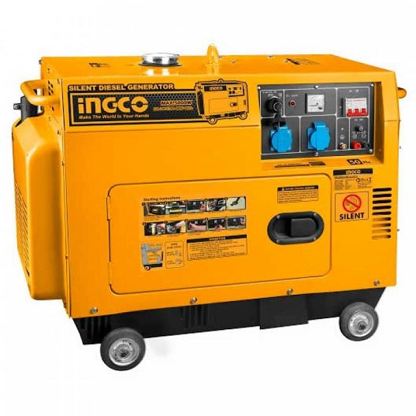 5KW Máy phát điện dùng dầu diesel Ingco GSE50001