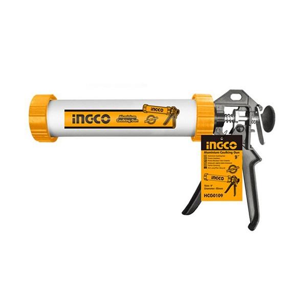 9inch Súng bơm silicon ống nhôm Ingco HCG0109