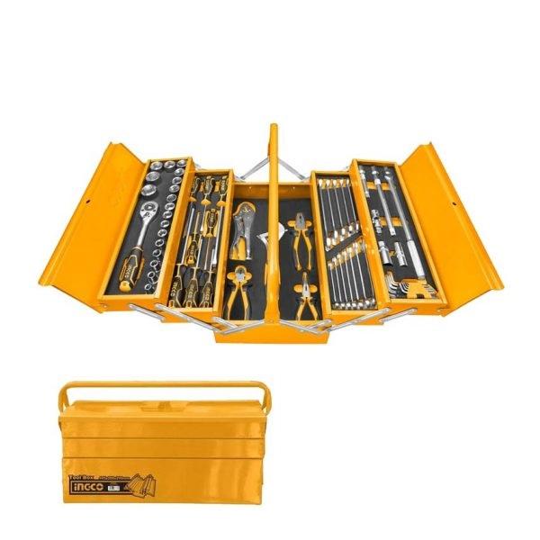 Bộ 59 công cụ trong hộp săt Ingco HTCS15591