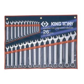 Bộ vòng miệng 26 cái hệ mét Kingtony 1226MR 6 - 32mm