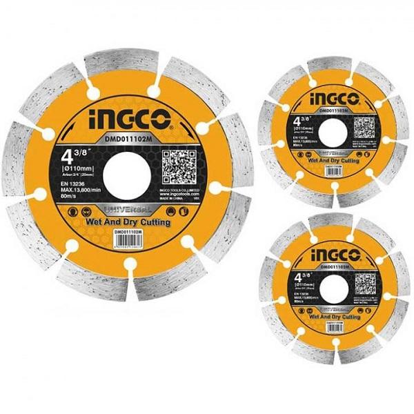 Đĩa cắt gạch khô Ingco DMD011802M