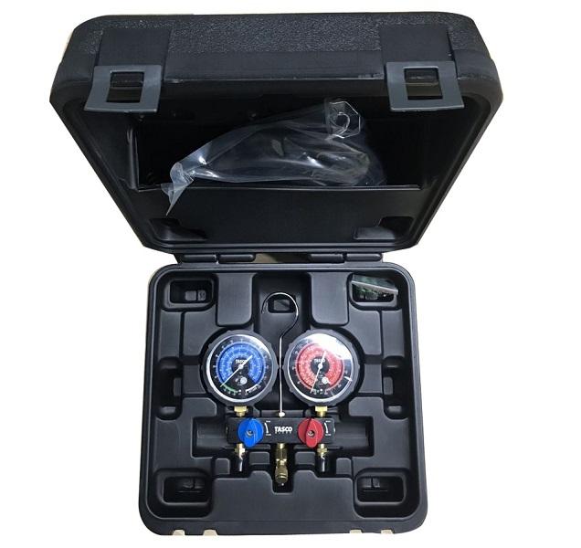 Đồng hồ nạp gas R22 mới Tasco TB125BV