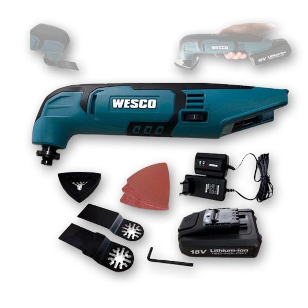 Máy cắt rung đa năng dùng Pin Wesco WS2932