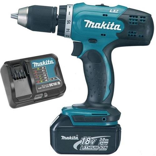 Máy khoan và vặn vít dùng pin Makita DDF453SFX7 (18V)