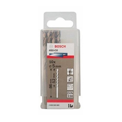 Mũi khoan INOX HSS-Co Bosch 2608585885 5mm